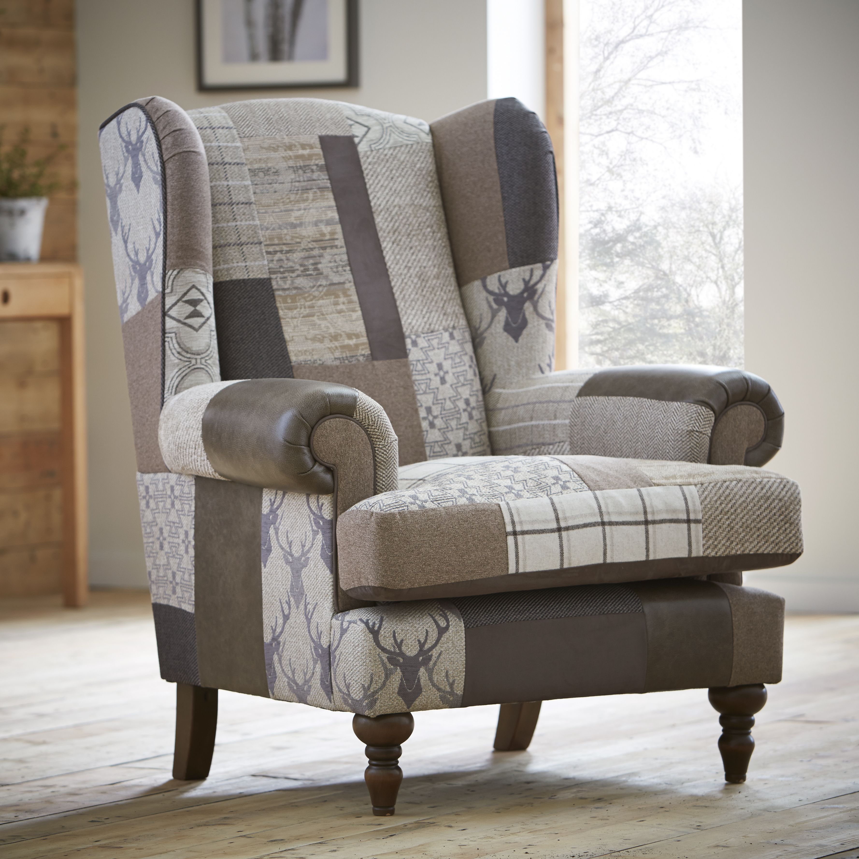 bedroom chair dfs wrought iron lounge wheels wing co uk alpine cottage couture