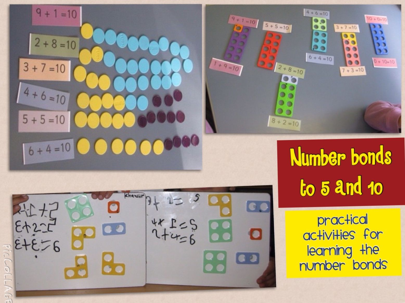 Learning About Number Bonds To 10