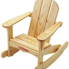Kids Wooden Rocking Chair Cr Plastics Adirondack Chairs Plans Fr Furniture And House