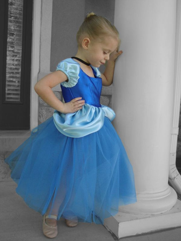 Cinderella Costume Tutu Dress Halloween