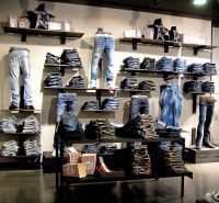 Great merchandising idea for jeans   For the Guys ...