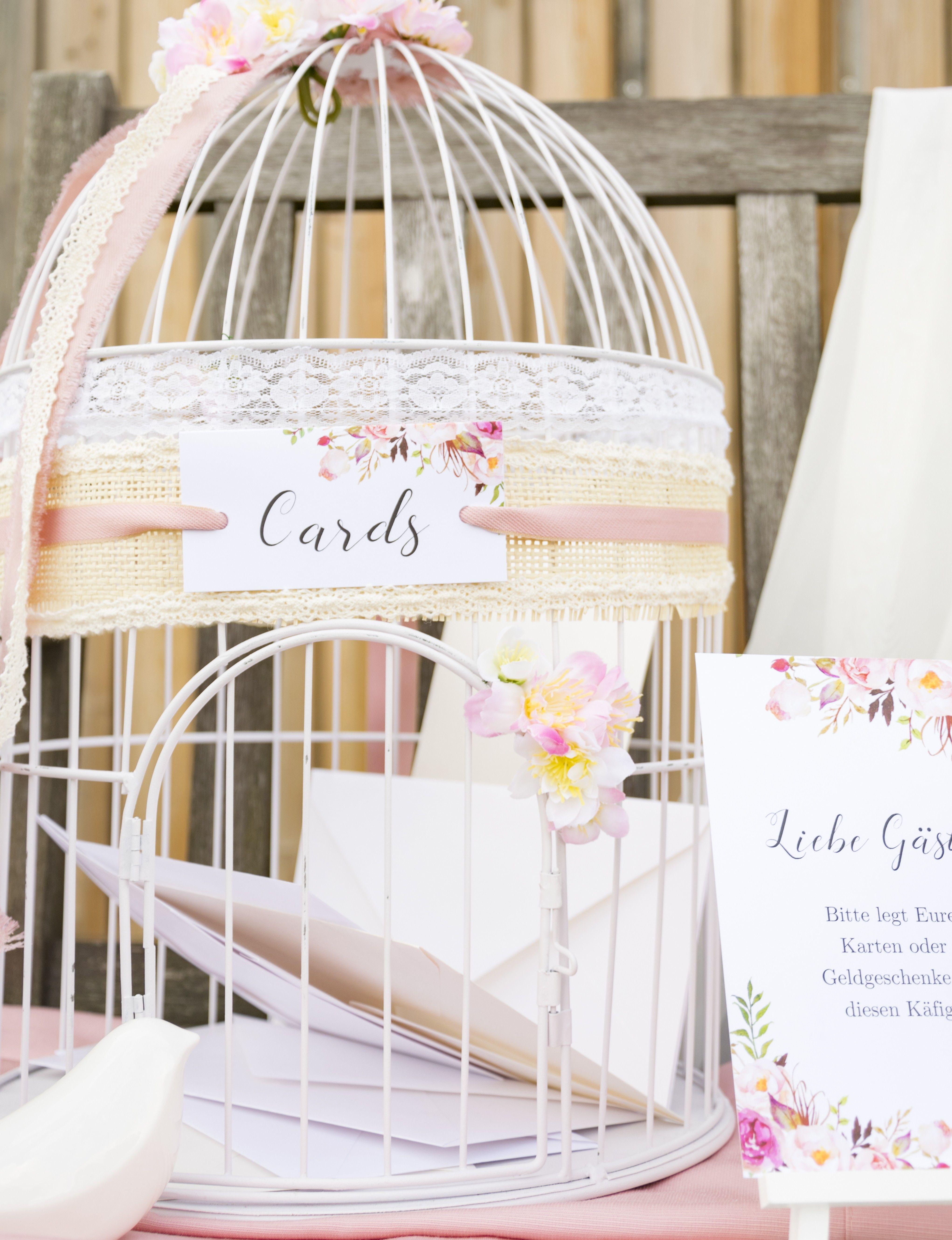 Der Vintage Vogelkfig als Briefbox und die Bitte um