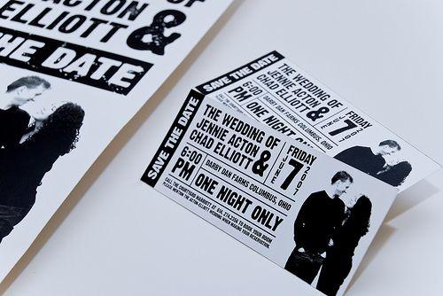 Concert Ticket Wedding Invitation Template Free – Concert Ticket Invitations
