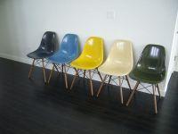 eames shell chair fiberglass restoration herman miller ...