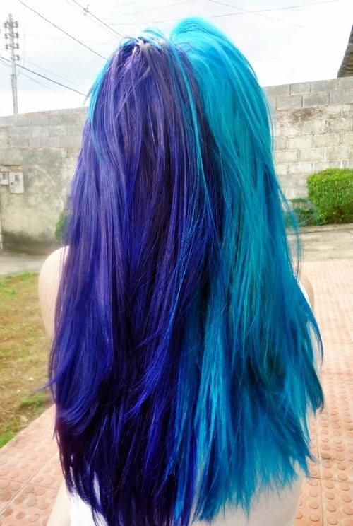 Dyed Blue Hair Hairstyles And Beauty Tips Hair Pinterest