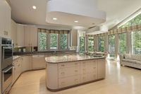 Eclectic Mix of 42 Custom Kitchen Designs | Island kitchen ...
