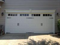 Steel Raised Panel Carriage House Garage Door with Windows ...