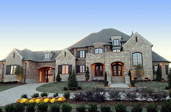Plan 67115GL French Country Estate Home Plan Luxury Houses
