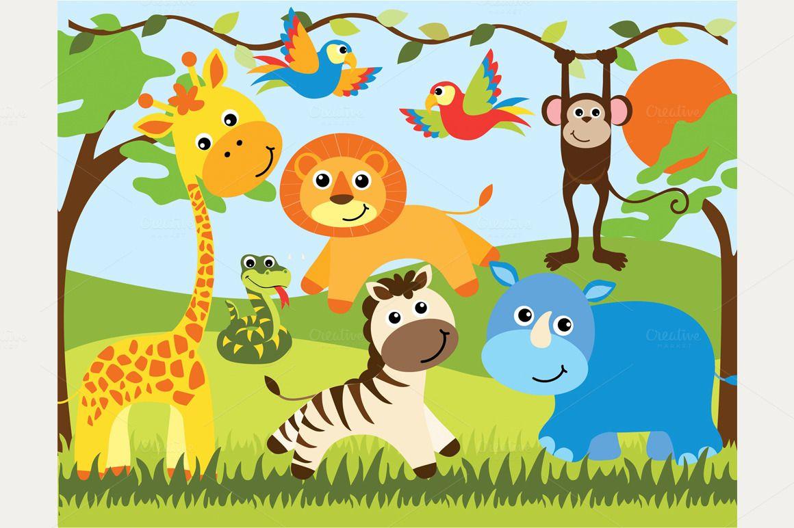 Safari Animals - Google Search
