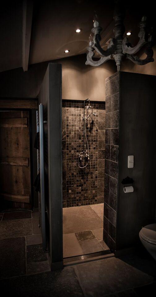 Landelijke badkamer douche  Badkamer  Pinterest