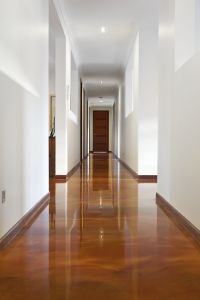 Concrete coatings and concrete floors. Polished concrete