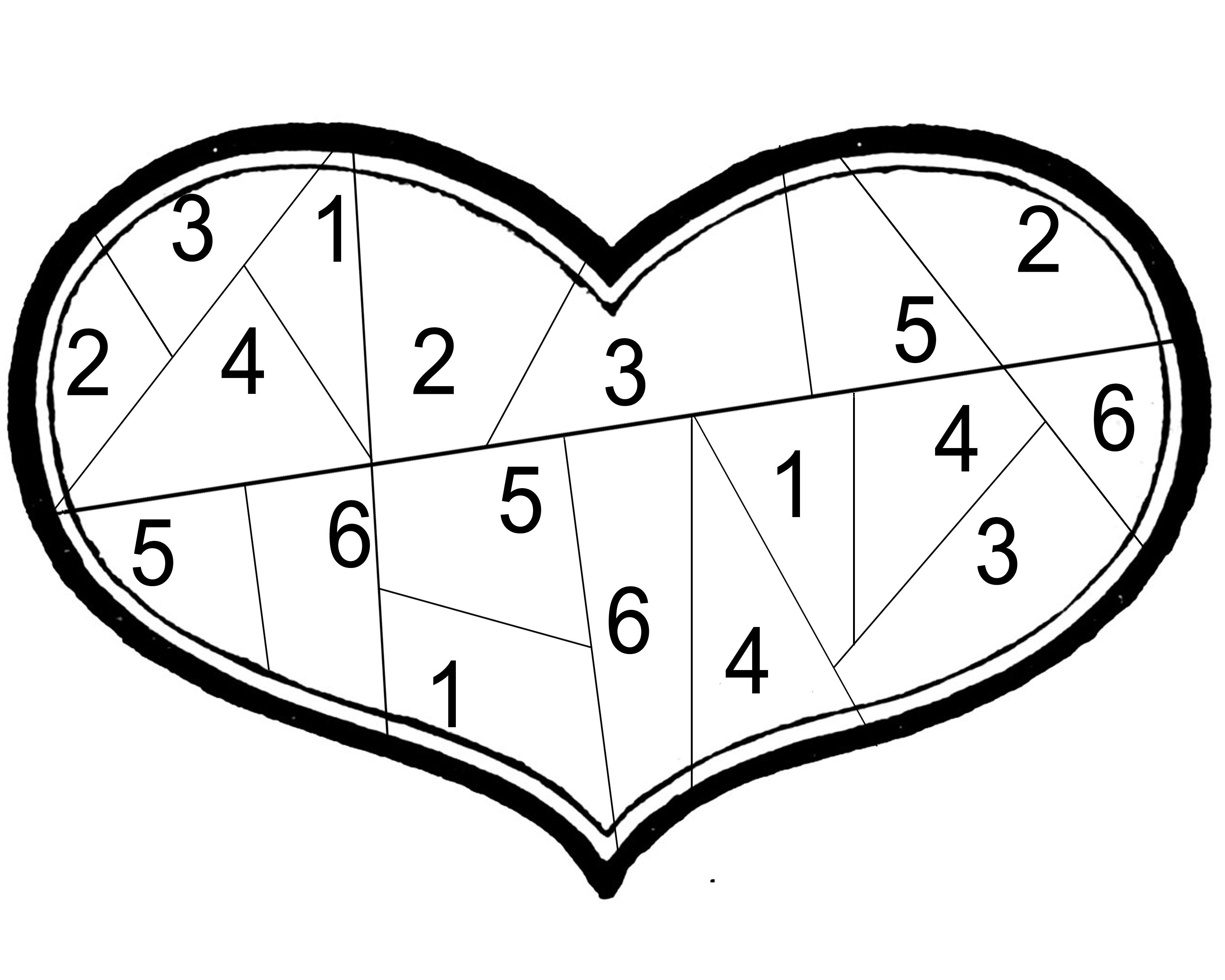 Valentines Dice Game First Person To Color The Heart Wins