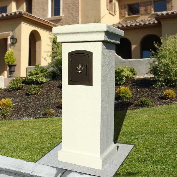 Brick and Stone Mailbox Designs
