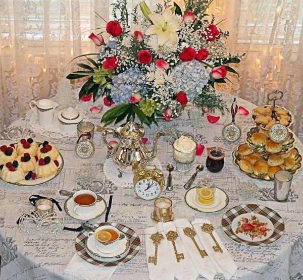 High Tea Party Clip Art Years Edwardian