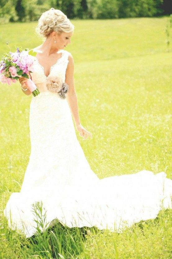 Country Wedding Dresses on Pinterest  Country Weddings Camo Wedding Dresses and Country