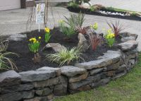 rock walls landscaping | Stone Walls | Dry Stack Stone ...