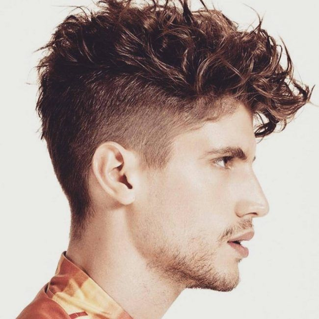 19 Messy and Curly Top  haircut  hairstyle men personal inspo  Pinterest  Curly Haircuts