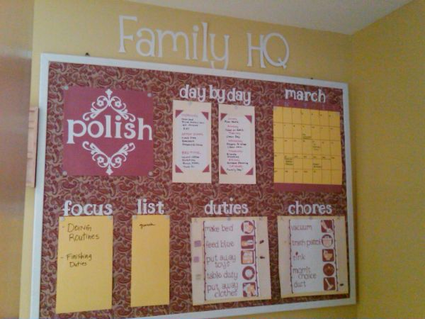 Office Bulletin Board Design Ideas