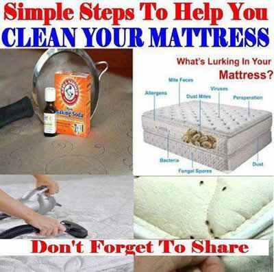 Simple And Effective Way To Clean Your Mattress