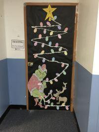 How the Grinch Stole Christmas Classroom Door | door ...
