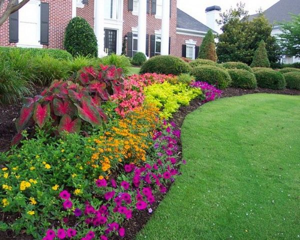 Options For Garden Flower Bed Ideas Landscaping Gardening