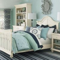 Guest Bedroom Inspiration... Navy and Sea Glass ...