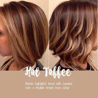 Medium brown with highlights   Hair styles   Pinterest