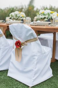 Wedding Chair Cover White Folding Chair Cover Set of 10 ...
