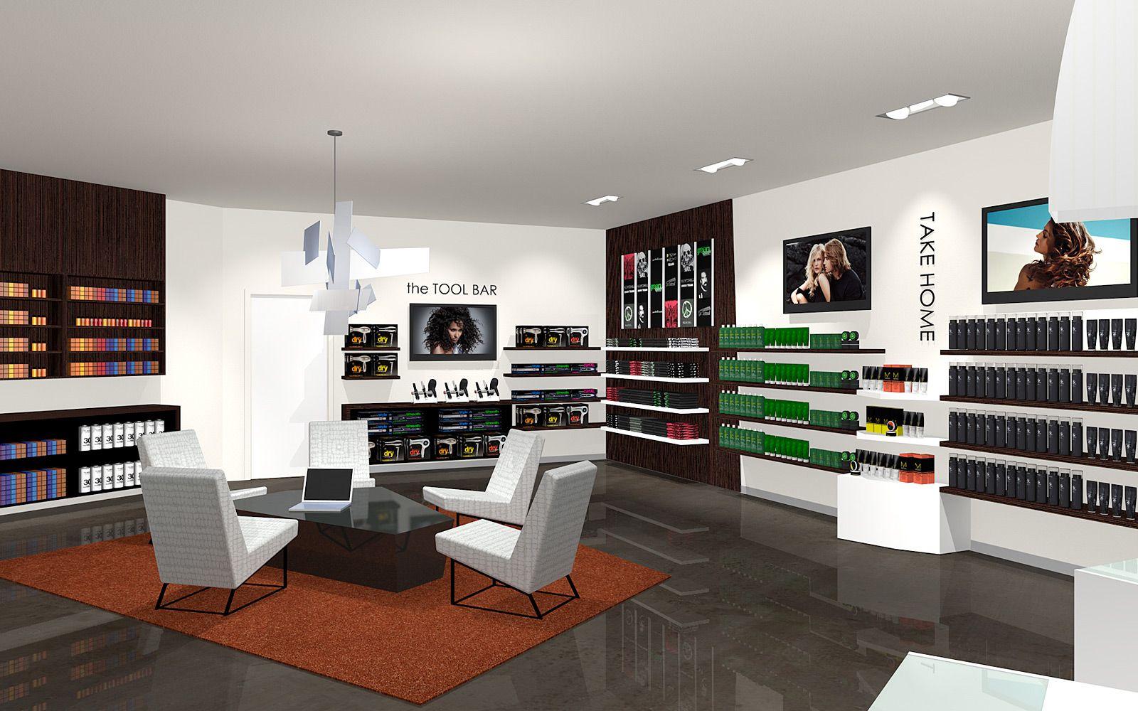 Paul Mitchell Salon Interior Design Wadsworth Design