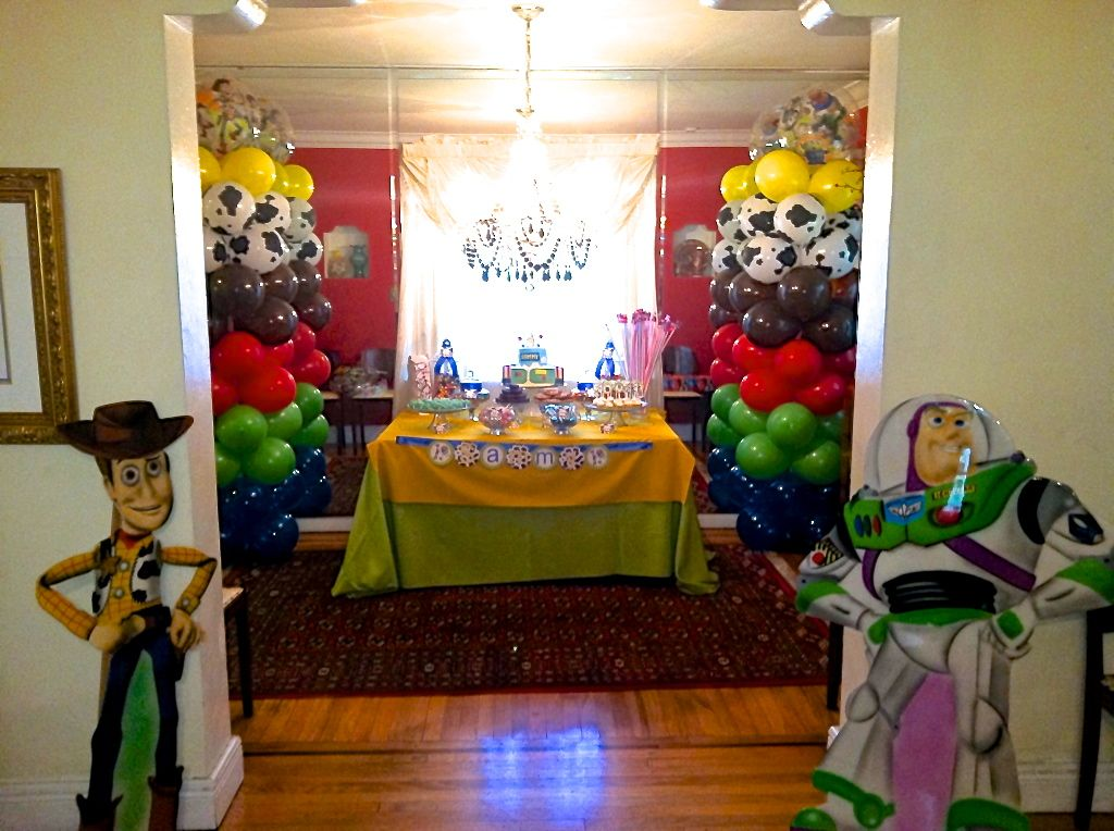 Image Detail For Kids Parties Toy Story Party Dessert Table