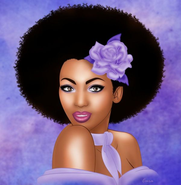 Black Women Art Beautiful Woman