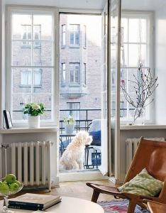 When  first saw this thought the balcony was dog room big beautiful with space for and open windows to look in or out also french doors dwellings trimmings pinterest rh