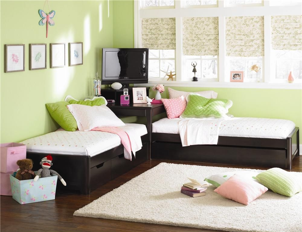 Midtown Two Twin L-Shaped Beds Set by Lea Industries ...
