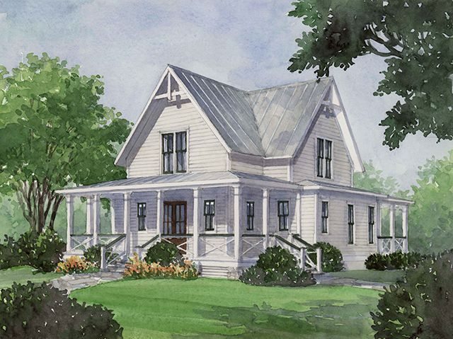four gables and lots of porches plan 1832 southern living