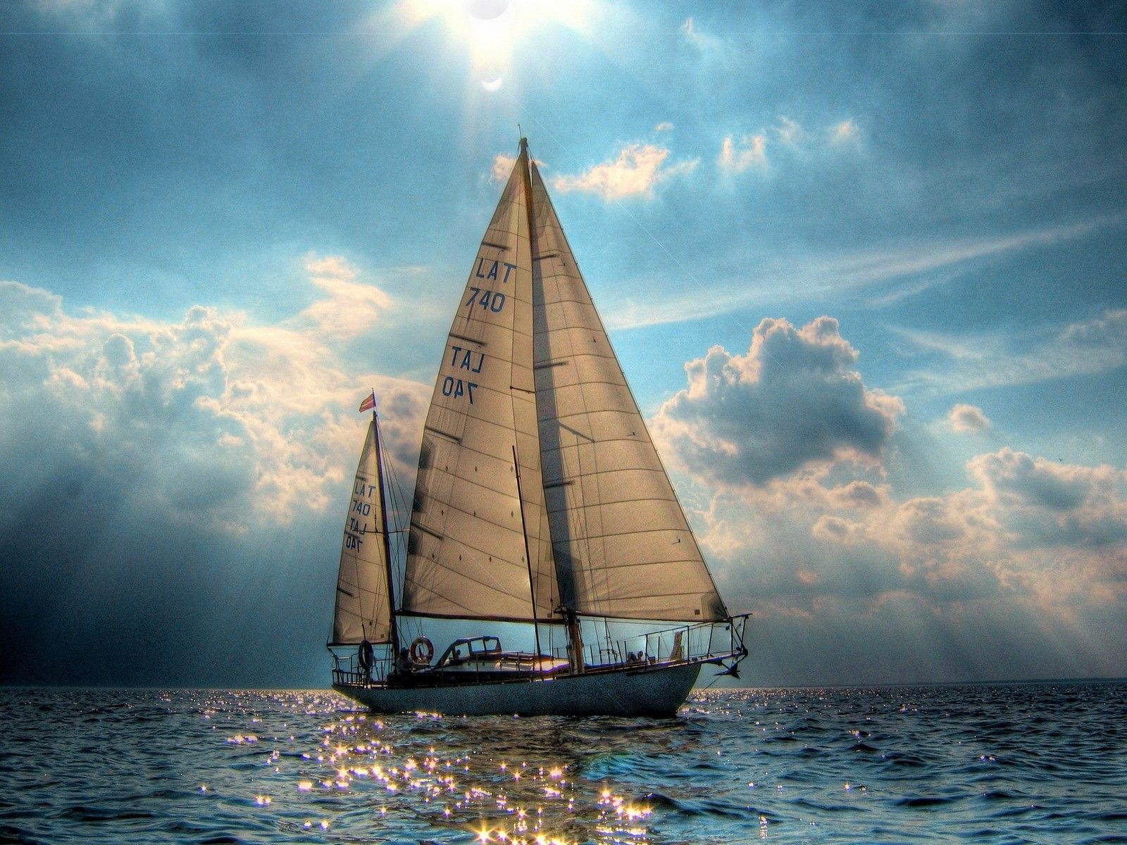 image detail for - boat sailboat sea ocean hd jootix 1600x1200