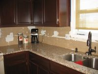 Crema Caramel granite countertops   Desert Living ...