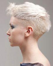 short hairstyles girls white