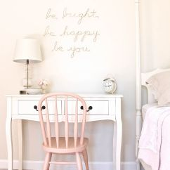 Small Table With 2 Chairs For Bedroom How To Tie A Slip Knot Chair Sash Best 25 43 Girls Desk Ideas On Pinterest Teen