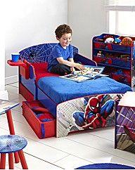 SpiderMan Toddler bed for our Charlie! | Jaylen ...