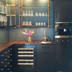 Open Metal Shelving Kitchen Decor Stores Concept Shelves Brass Pipe Like Make