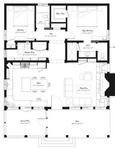 bed bath simple floor plan also best tiny house plans images on pinterest rh