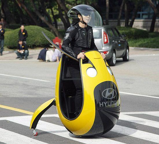 hyundai eu un transporteur electrique en oeuf