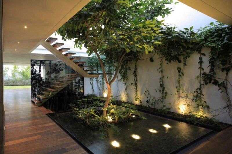 Casa Veintiuno By Hernandez Silva Arquitectos Gardens Home And