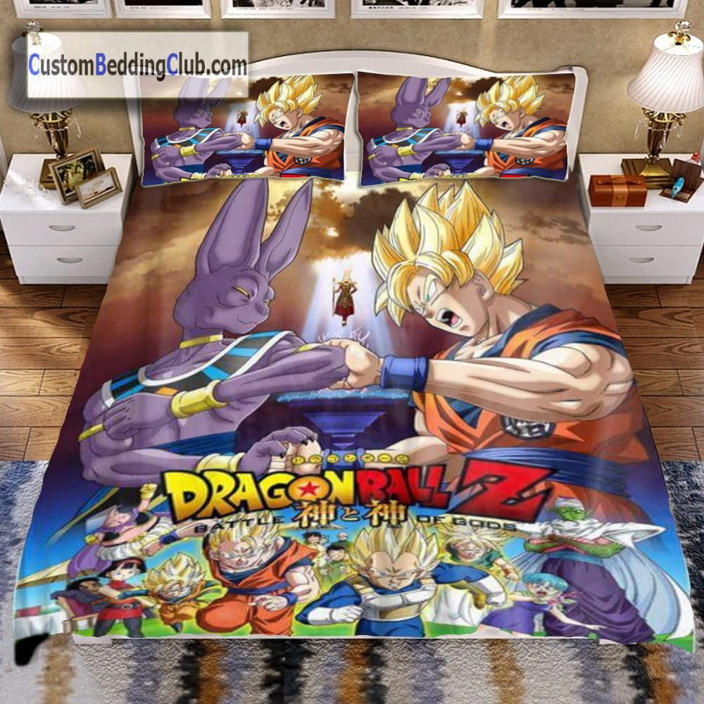 Dragon Ball Z Bed Set, Sheets & Blanket