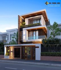Modern Front House Elevation Designs