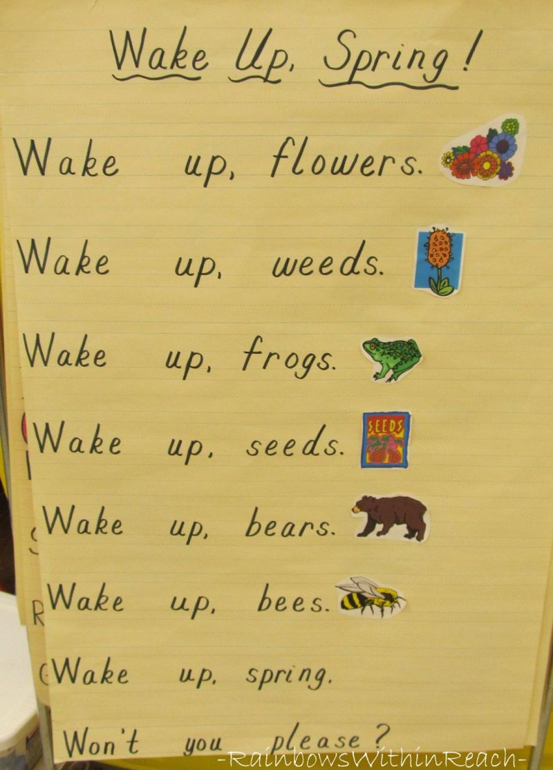 Springtime Poems For Toddlers Poemsrom