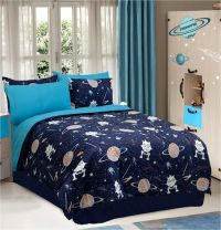 Aliens Galaxy Space Bedding Twin Full Comforter Set or Bed ...