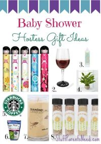 Baby Shower Hostess Gift Ideas I Love