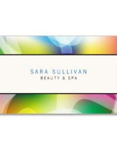 Interior decorator business card colorful swirls also design rh pinterest