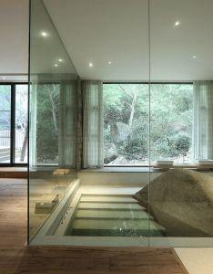 Massive bathtub made from  rock china  interior design ideas also rh no pinterest